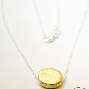 Brushed Bead Necklace/Bracelet/Anklet, Handmade 🌸